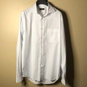 Corneliani long sleeve button up dress shirt
